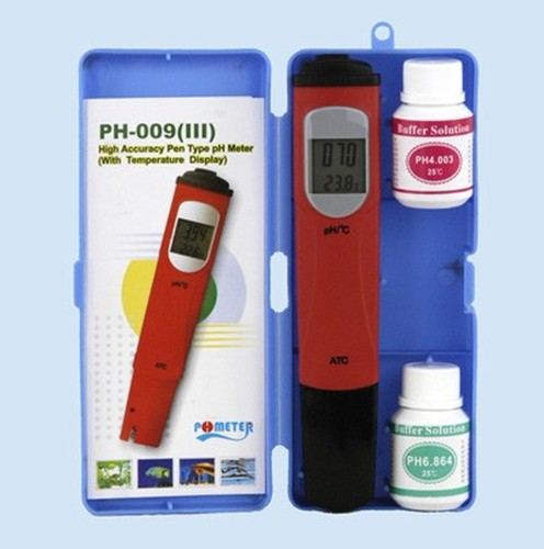 6 pieces pH and ° C Tester digital