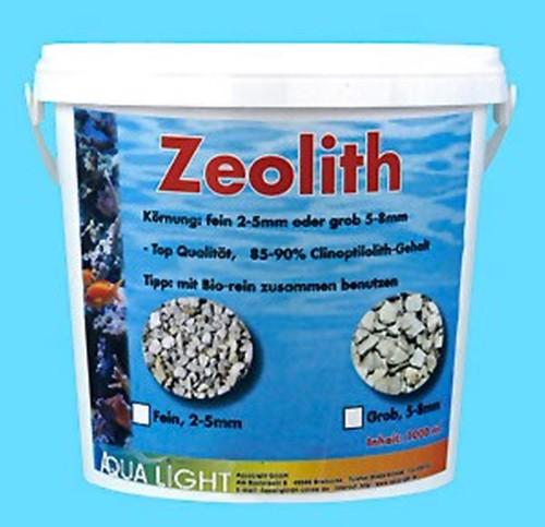 6 pieces ZEOLITE roughly 5 liter bucket