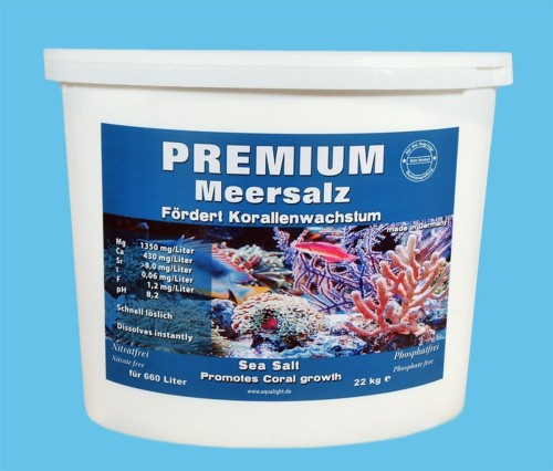36 pieces AQUA LIGHT-PREMIUM-special sea salt 22 kg