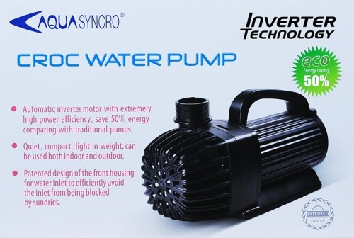 3 pieces CROC water pump 4000 l / h