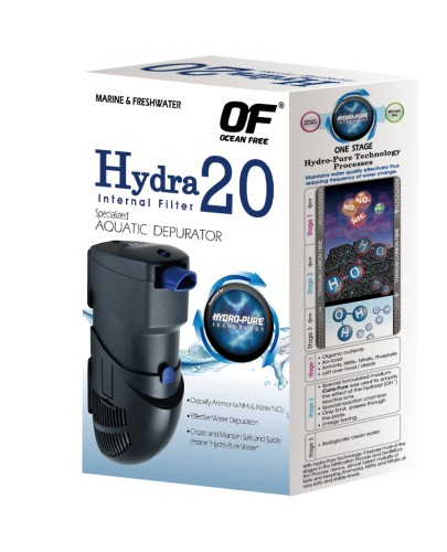 3 pieces HYDRA 20 internal filter