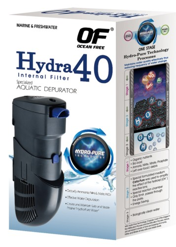 3 pieces HYDRA 40 internal filter