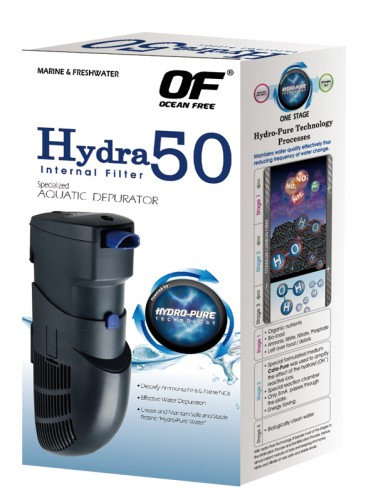 3 pieces HYDRA 50 internal filter