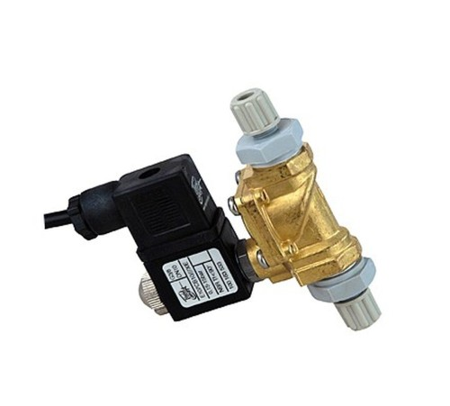 "3 pieces Solenoid valve for tap water 3/8 ""4 / 6 mm port / 0-16 bar"""