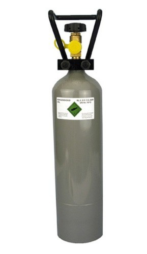 3 pieces CO2 cylinder 2, 0 kg