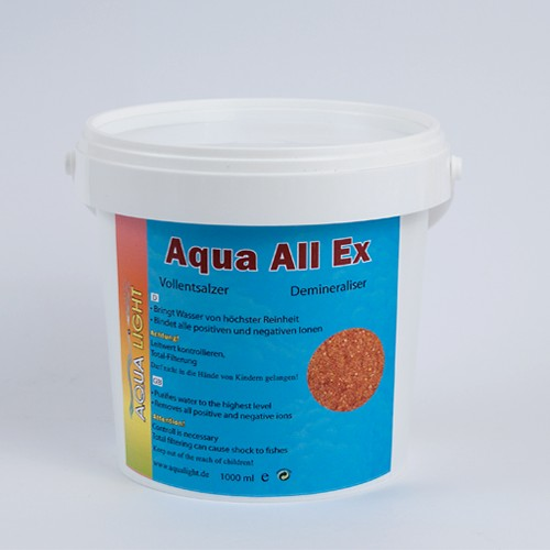 12 pieces AquaAllEx for fresh water 1 l
