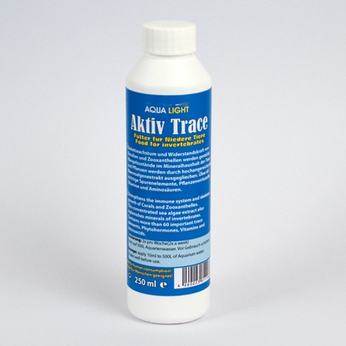 10 pieces Trace-active 250 ml