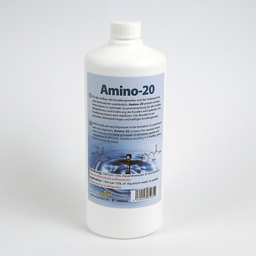 3 pieces AquaLight coral Amino20 1000 ml