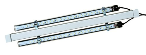 2 pieces Aluminium beams for 2LED-Röhren GT8 - 525mm