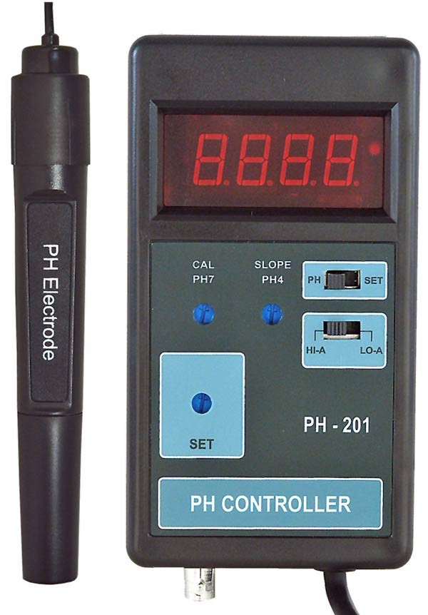 3 pieces pH-controller