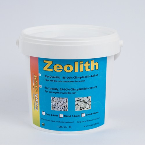 12 pieces ZEOLITE fine 1 litre can