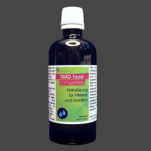 TIMO food competition 100 ml, Glass bottle
