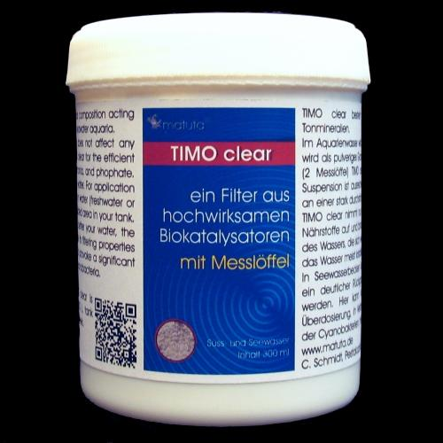 TIMO clear 300 ml, incl. Dosing spoon, Round box