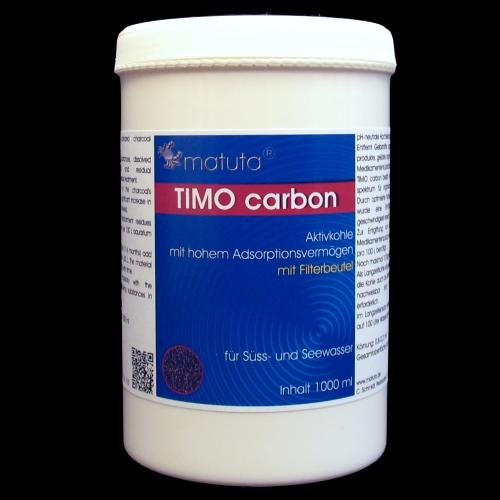 TIMO carbon 1000 ml, Round box, with filter bag