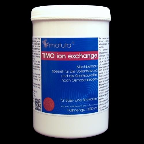 TIMO ion exchange 1000 ml, Runddose