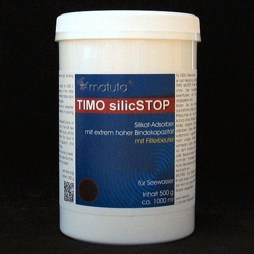 TIMO silicSTOP 500 g, Runddose, mit Filterbeutel