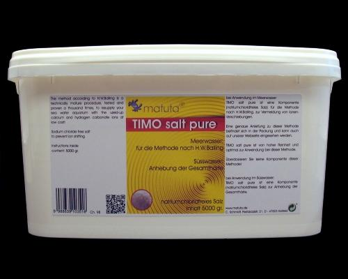 TIMO salt pure 5000 g, Plastic bucket
