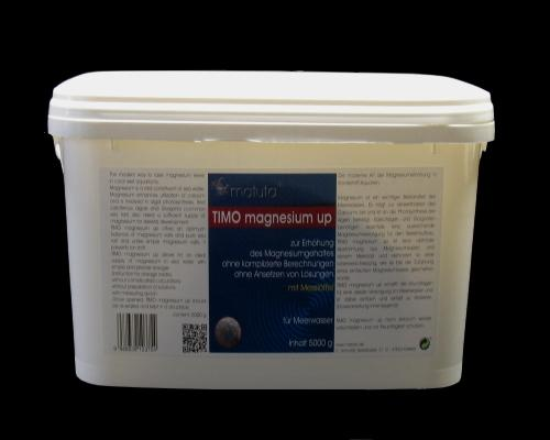 TIMO magnesium up 5000 g, Dosing spoon, Plastic bucket