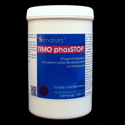 TIMO phosSTOP 1000 ml, Round box, with filter bag