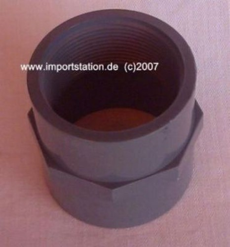 PVC Fitting Reduktion lang 40mm Innengew. 1-1/4'